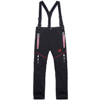 Wholesale Children Sporty Suit - Wholesale- Brand Climbing Trousers Children Outerwear Warm Trousers Sporty Ski Suit Waterproof Windproof Boys Girls Ski Pants h40