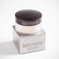 pochette de maquillage achat en gros de-Hot Sale Translucent laura merci Fondant Poudre Maquillage 3 Couleurs Professionnel Libre Fixante Illuminateur Correcteur Avec Boîte 29g