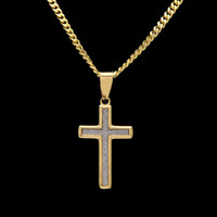 Wholesale Plant Powder - New Hip-hop Mini Star Diamond Powder Cross-color Stainless Steel Boutique Pendant Can Be Superimposed With Wholesale