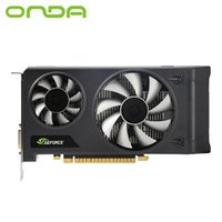 Wholesale wholesale graphics card - High qualityOnda Original GTX1050T Shield 4GD5 GDDR5 4GB Independent Graphics Desktop Graphics Card Gaming Durable With HDMI VGA Interface