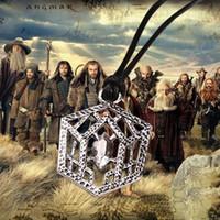 Wholesale Hobbit Belt Buckle - The Hobbit An Unexpected Journey Thorin Oakenshield's Belt Buckle Pendant Necklace Thorin neckace