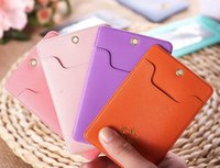 Wholesale Sport Pony - Kawaii 7 Colors For Choice - Little Pony Candy Colors PU 11*6.5CM Cards Holder BAG PVC ID Pouch Case BAG ; BUS Cards Bags Pouch