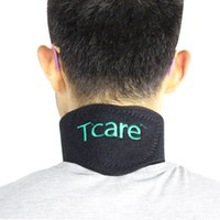 Wholesale Tourmaline Magnetic Neck Support - New Tourmaline Magnetic Therapy Neck Brace Support Neck Massager Cervical Vertebra Protection Self Heating Tourmaline Belt