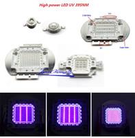 Wholesale Uv Power Led Lamp - Free shipping 3W 5W 10w 20w 30W 50w 100W 395NM UV Ultra Violet High power LED for Aquarium
