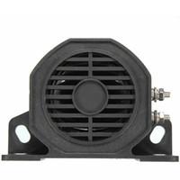 Wholesale Alarm Horn Speaker - W-H30 black Reversing Alarm speaker Back up Waterproof Reverse Backup Alarm Horn for Car Vehicle truck 12V 24V 48V 60V AT