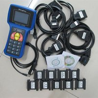 Wholesale T Code Car Key - Professional Car Key Programmer T300 new version T 300 Auto Transponder Key Decoder For Multi-Brands T-CODE T-300 With English Spanish