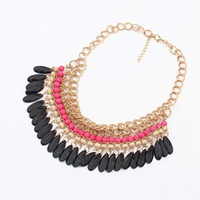 Wholesale Chains For Costume Jewellery - Hot sale costume jewelry stores Bohemia national wind short necklace for women charm bracelets chokers necklaces jewellery online