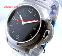 Wholesale Marina Black - Luxury Watches Factory Supplier 3 Day 3Day Marina Black Dial automatic Mens Men's Watch Watches 328 00328 328
