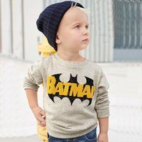 Wholesale Cartoon Characters Sweaters - Autumn New Children's Clothing Sweater Boy Cotton Long-sleeved T-shirts Kid's Clothing Cartoon Hoodies