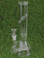 plates-formes d'écoulement achat en gros de-Bong! JM FLOW bang bong en verre de haute qualité à la main avec 10arm arroseur perc en pétrole plate-forme en verre narguilé plate-forme pétrolière avec joint 14.5mm