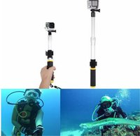 Wholesale Pole Extension - Floating Extension Pole EVO 14-24 Inch Float Floaty Monopod With Remote Clip Gopole For Hero 4 3+ 3 SJ4000 Xiaoyi