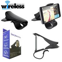 mobiler navigationsstand großhandel-Universal Einstellbare Auto Armaturenbrett GPS Navigation Halter Unterstützung für Handy Halterung Ständer Grip Mount Autotelefonhalter
