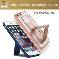2016 Universale Easy Take con Stand Rock Covers Custodia in pelle con clip da cintura per iPhone 6 6s 6plus 6splus