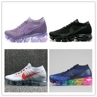 2017 Hot Sale New Colors Vapor Mens Mulheres Moda Athletic Maxes Sport Shoe Hot Corss Hiking Jogging Walking Outdoor Shoes Size Eur 36-46