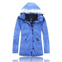 Wholesale Children S Fur Coats - New canada top quality winter outdoors Children and youth down jacket warm down parka real fur collar hooded coat Free shipping c-23