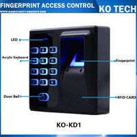 Wholesale Access Control Biometric Fingerprint Reader - Wholesale-Digital Electric RFID Reader Finger Scanner Code System Biometric Fingerprint Access Control for Door Lock Home Security System