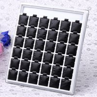 Wholesale pc Black White Pairs Earrings Jewelry Display Stand Holder Shop Showcase Counter Table Jewelry Displays