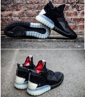 Wholesale High Top Shoes Cheap Prices - Wholesale Tubular X Primeknit High Top Y3 Winter Mens Running Shoes Black Suede Good Quality Cheap Price SIZE EUR39-45