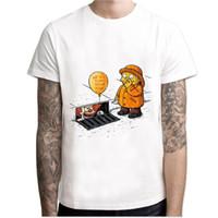 Wholesale Clown Custom - 2017 IT movie T Shirt Men's stephen king printed High Quality clown Tops Tees fear halloween pennywise Custom male t-shirt