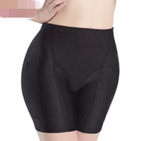Wholesale Padded Shapewear Hips - Wholesale- 2017 New Sexy Women Foams Padded Pant Shapewear Bum Butt Hip Enhancing Underwear Knickers Shapers Hop Enhancer Free Shipping