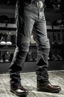 Wholesale motorcycle pants komine - Free shipping Komine SuperFIT motorcycle jeans motorcycle pants weerstand dunne denim broek rally moto broek blauw mannen mode Jeans