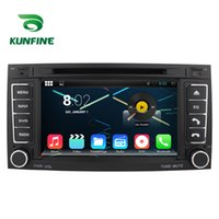 "Wholesale Vw Android Dvd - 7""Quad Core 1024*600 Android 5.1.1 Car DVD GPS Navigation Player Car Stereo for VW Touareg 2004-2011 Radio Wifi Bluetooth KF-V2213Q"