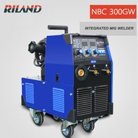 Wholesale Welding Machine Mig Mag - Riland MIG MAG Welding Machine 380V MIG300GW NBC300GW Dual Purpose MIG MMA Function Direct Factory Sales Welcome Whole Sales Cooperation