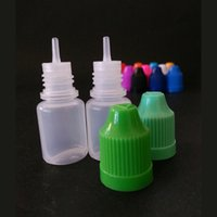 Wholesale Samples Children - free shipping ejuice bottle 5ml child proof safety cap eye dropper needle tip e liquid 5ml bottle wholesale for sample diy e juice