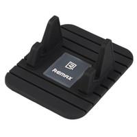 universal-silikon-gps-halter großhandel-Remax Universal Soft Silikon Auto Halter Antirutschmatte Halter Desktop Ständer Halterung Für Smartphone GPS