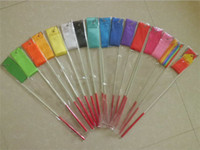 gymnastikbänder großhandel-100 Stück Rhythmische Gymnastik Gimnasia Ritmica RG Band 4 Meter Kind Erwachsene Requisiten Dance Stick 5cm Breite Sport equipmemnt Farben