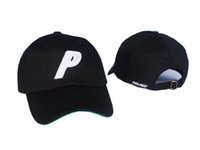 Unisex outdoor active - High Quality palace cap Outdoor Visor Strapback Black Green White Dark blue panel snapback POLOs baseball hat