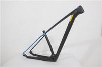"Wholesale Mtb Carbon Frame 17 - 2015 new model MTB carbon mtb frame 650B 27.5 29er Mountain bikes frames 15"" 17"",135x9 also can be 142x12"