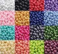 Wholesale 4 mm DIY handmade Glass blend color Loose Beads