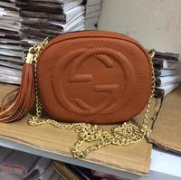 Wholesale American Disco - Women Leather Soho Bag Disco Shoulder Bag Purse