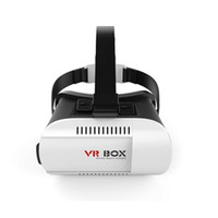 Wholesale Head Mount Plastic VR BOX Version VR Virtual Reality Glasses Rift Google Cardboard D Movie for quot Smart Phone