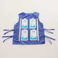 Wholesale Mascot Costumes Patterns - High temperature protective clothing, summer cooling vest can be installed ice pack cooling for the mascot costume