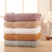 Wholesale Terry Towels For Children - 70*140 500g Luxury Solid Thick Home Bath Towels Egyptian Cotton for Adults,Plain Pool SPA Terry Beach Towels,Serviette de Bain