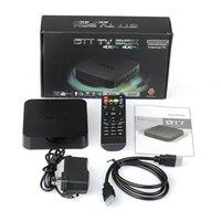Wholesale Cortex A5 - MXQ Android TV Box mxq Amlogic S805 Quad-Core Cortex-A5 Mali-450 1GB+8GB H.264 H.265 Pre-installed MX MXQ Android TV Box