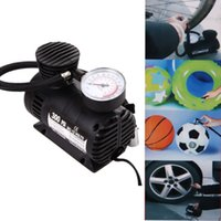 Wholesale Compact Electric Cars - 12V 300PSI Car Compressor Pump Bike Tire Tyre Air Inflator Pump for Bike Motorcycle Car Electric Compact Compressor Pump