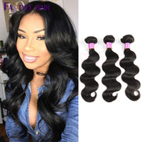 Wholesale Indian Hair Cheap Dyeable - Mink 7A Malaysian Body Wave Extensions 3 Bundles 100% UNPROCESSED Brazilian Indian Peruvian Virgin Human Hair Wefts Dyeable Wholesale Cheap