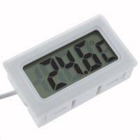 Wholesale Display Freezers - 2016 Hot Search 1Pcs Temperature Measurement LCD Display Thermometer Digital for Aquarium Freezer Black and White Color