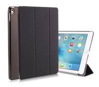 Wholesale ipad smart clear back case for sale - 3 Fold Magnetic Smart Cover Back Clear Case For iPad Air Air2 Pro Mini Mini2 Mini3 Folding Case Auto Sleep Wake