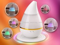 Wholesale Cool Mist Ultrasonic Impeller Humidifier - LOWEST PRICE! Essential Oil Diffuser Portable Ultrasonic Cool Mist Aroma Humidifier LED Lights Changing & Waterless Auto Shut-off Function