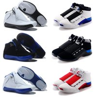 Wholesale New Generation Sports - New 2018 Cheap 18 XVIII 18s Mens Basketball Shoes generation of black and blue Athletics Sport Sneaker Boots