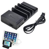 Wholesale Desktop Charging Dock - Charging Station, Detachable Universal 4 Ports USB Charging Dock Desktop Charging Stand Organizer Fits most USB-Charged Devices