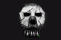 Wholesale Helmet Desert - Scary Desert Corps Helmet Skull Mask The Treasure Hunter Movie Theme Resin Masks For Halloween Party 100% Original Top Grade Free Shipping