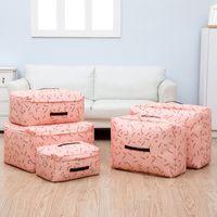 Wholesale Storage Boxes Underwear Bra - Hot Sale Peach Skin Pink Blue Cherry Red Clothing Underwear Bra Socks Scarf Ties Organizer Storage Bag Boxes S M L