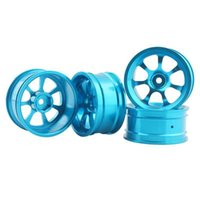 Wholesale Blue Drift Tires - RC Aluminum Wheel 4pc D:52mm W:26mm Fit HSP HPI 1:10 On-Road Drift Car Rim 107B