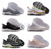 Air 97 Ultra Wolf Gray Neon Black Pink Snakeskin Mulheres Men Running Shoes Top Qualty 97 Premium Gold White 97 OG Designer sapatos