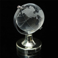 Wholesale Clear Paperweight Wholesalers - Unique Wedding Favors Crystal Globe Paperweight Bridal Shower Baby Girl Christening Party Decoration Gift Free Shipping ZA4407